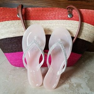 NEW! Blush pink jelly sandals